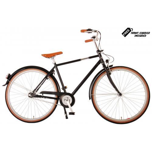 Volare Lifestyle Vélo pour homme - Homme - 56 centimètres - noir satiné - Shimano Nexus 3 vitesses