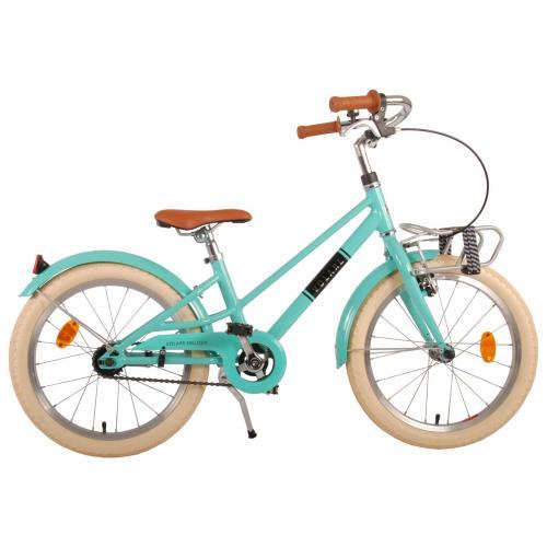 Vélo pour enfants Volare Melody - Filles - 18 pouces - turquoise - Prime Collection