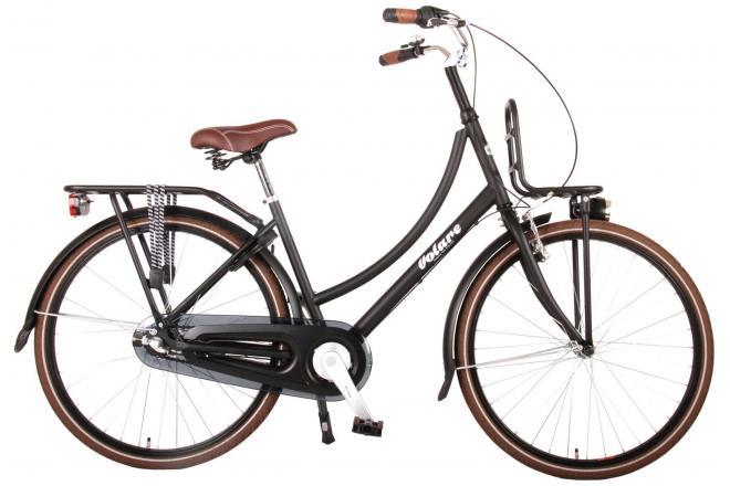 Volare Excellent vélo pour enfants - Unisexe - 26 pouces - Noir - Shimano Nexus 3 Vitesse - Assemblé à 95%