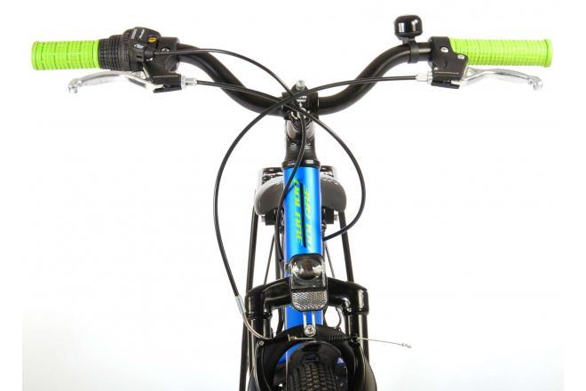 Volare Cross Bicyclette pour enfants - Garçons - 24 pouces - Bleu foncé - 6 vitesses - Prime Collection