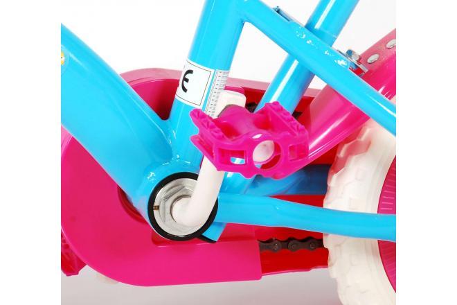 Baby Shark Vélo d'enfant - Unisexe - 10 pouces - Bleu rosé