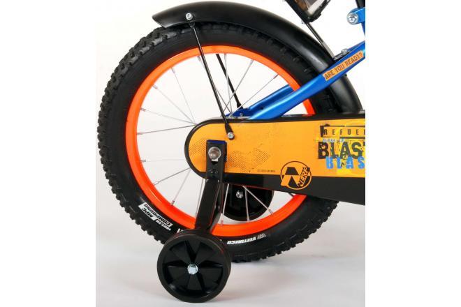 NERF Vélo pour enfants - Garçons - 16 pouces - Bleu satiné
